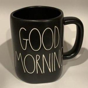 Rae Dunn Good Morning Mug - Black
